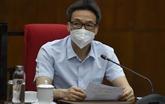 Réunion en ligne avec Hô Chi Minh-Ville sur le contrôle du COVID-19