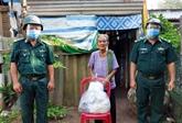 Les garde-frontières mobilisent la population pour lutter contre le COVID-19