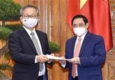Le Premier ministre vietnamien reçoit l'ambassadeur du Japon