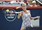 Tennis : Camila Giorgi crée la sensation en battant Karolina Pliskova à Montréal