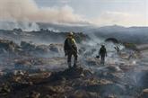 Espagne : fin de la canicule, un gigantesque incendie bientôt circonscrit