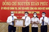 Le président décerne l'Ordre du Travail de 3e classe à Bac Giang