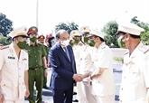 Le président Nguyên Xuân Phuc se rend à Bac Giang