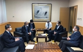 Le président du PCJ estime le consensus du peuple vietnamien dans la lutte anti-COVID-19