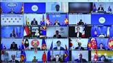 Le Vietnam à une conférence virtuelle pour mobiliser les assistances humanitaires au Myanmar