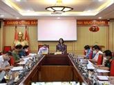 Élaboration d'un projet sur l'édification des organisations de base du Parti et les membres du Parti
