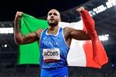 Athlétisme : Jacobs l'inattendu succède à Bolt sur 100m