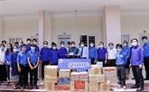 Le Laos soutient les étudiants vietnamiens dans la prévention du COVID-19