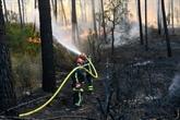 Incendie sur la Côte d'Azur : les pompiers