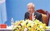 Le coordonnateur résident de l'ONU honoré pour ses contributions à la protection de l'environnement