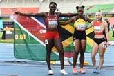 Athlétisme : Clayton domine Masilingi sur 100m des Mondiaux U20