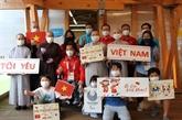 La communauté vietnamienne au Japon encourage les handisportifs vietnamiens