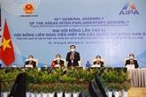 Le président de l'AN, Vuong Dinh Huê, à la cérémonie d'ouverture de l'AG de l'AIPA-42