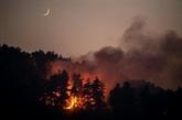 Grèce : évacuations dans l'île d'Eubée à nouveau frappée par le feu