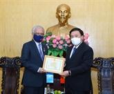 Le coordonnateur résident de l'ONU au Vietnam à l'honneur