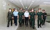 Un vice-Premier ministre se rend à l'Hôpital de médecine militaire 175