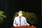 Nouveau président du Comité populaire de Hô Chi Minh-Ville