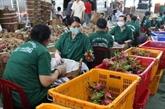 Les exportations de Tiên Giang ont augmenté de 19,8% en sept mois