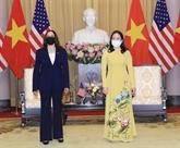 La vice-présidente du Vietnam reçoit son homologue américaine Kamala Harris