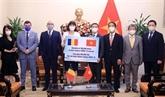 COVID-19 : La Roumanie offre 300.000 doses du vaccin d'AstraZeneca au Vietnam