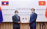 COVID-19 : la coopération Vietnam - Laos obtient des résultats positifs