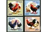 Émission d'une collection de timbres sur les