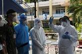 Contrôle du COVID-19 : le Premier ministre en inspection à Hô Chi Minh-Ville