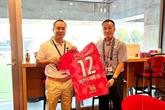 Football : le club japonais Cerezo Osaka veut renforcer sa coopération avec les clubs vietnamiens