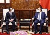 Le président Nguyên Xuân Phuc reçoit l'ambassadeur de Mongolie à Hanoï