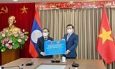 Hanoï et le Laos favorisent une coopération multiforme