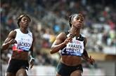 Athlétisme : Fraser-Pryce refroidit Thompson-Herah sur un 100m bouillant à Lausanne