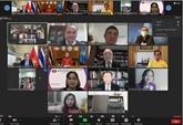Webinaire marquant les 45 ans des relations Vietnam - Thaïlande