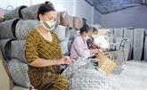 Thai Binh : faire fortune grâce à la vannerie