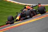 F1 : Verstappen prend les devants mais perd l'arrière aux essais à Spa