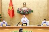 Le PM souligne l'objectif d'un contrôle précoce de la pandémie