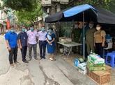 Les collectivités de Hanoï s'engagent dans la lutte anti-COVID-19
