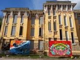 Exposition de l'art de rue à Huê