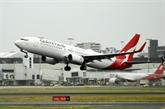 Australie : congés sans solde pour 2.500 employés de la compagnie Qantas