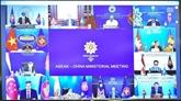 Réunion des ministres des Affaires étrangères ASEAN – Chine