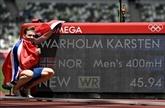 Athlétisme : le triomphe de Warholm le démolisseur