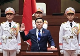 Lettre de félicitations au président de l'AN, Vuong Dinh Huê