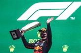 F1 : Verstappen vainqueur d'un simulacre de Grand Prix sous le déluge en Belgique