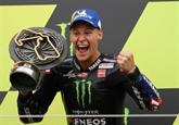 GP moto de Grande-Bretagne: Quartararo assomme le championnat
