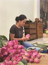 Le thé au lotus du lac de l'Ouest, une spécialité de Hanoï