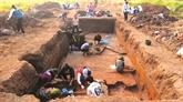 Le passé revécu dans le site archéologique de Vuon Chuôi