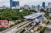 Le système de billetterie du chemin de fer urbain Nhôn - gare de Hanoï est arrivé au Vietnam