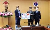 Le Vietnam reçoit plus de 250.000 doses de vaccin anti-COVID-19 offertes par la République tchèque