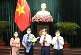 Le Comité populaire de Hô Chi Minh-Ville a un nouveau président