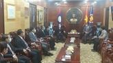 Le gouverneur de Luang Prabang salue les liens accrus avec le Vietnam