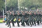Ouverture des compétitions des Army Games 2021 au Vietnam